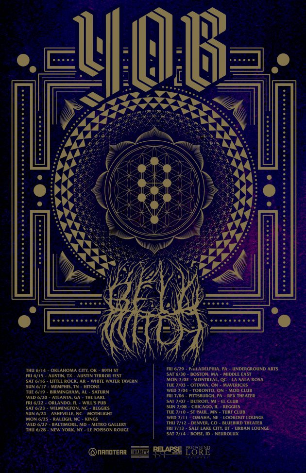 Yob Bell Witch Summer Us Tour Profound Lore Records